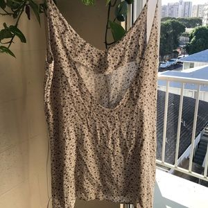 Brandy melville dress low back